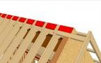 """Vidéo 3 : Livre """"L'OSSATURE BOIS"""" : Contreventement d'un plafond cathédrale (page 86)"""