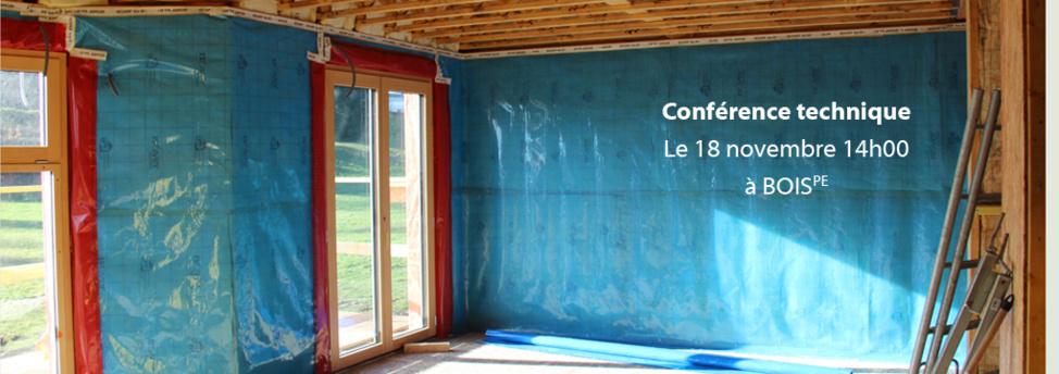 Maison BOIS PE en construction (janvier 2013)