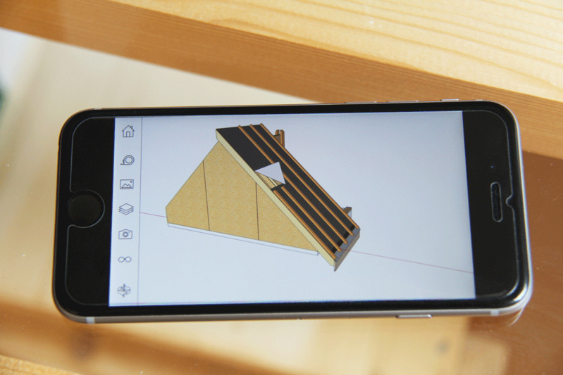 Export SketchUp pour supports mobiles