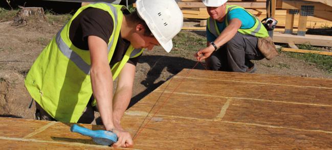 BATIMAT : BOIS PE anime un atelier sur les planchers bois