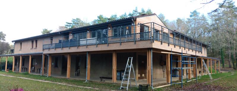 LES CHANTIERS DES FORMATEURS BOIS PE : Résidence hôtelière en Dordogne