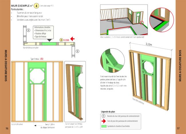 Extrait livre COB Le poche - chapitre murs à ossature bois