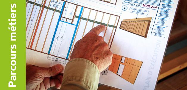 formation ossature bois 2 bien pr parer son chantier de la conception technique aux plans de. Black Bedroom Furniture Sets. Home Design Ideas