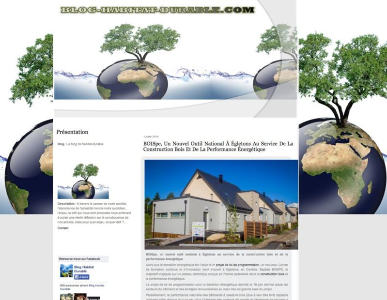 Blog Habitat durable : Bois PE, un nouvel outil National à Égletons au service de la construction bois et de la performance énergétique