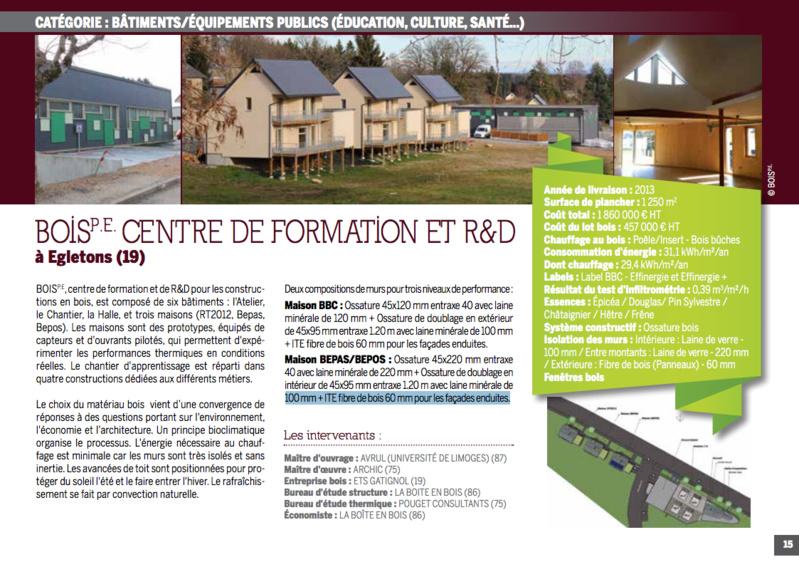 Bois PE est dans le Palmarès Construction Bois en Limousin