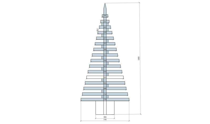 Fabriquer un Sapin de Noel… à partir du mécano MOB