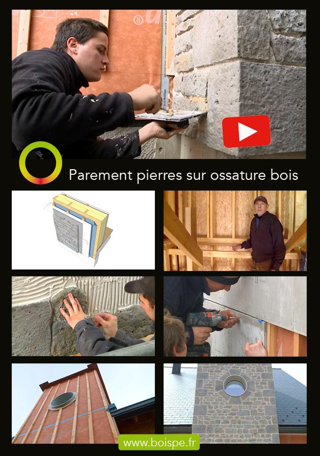 Vidéo : réaliser un parement en pierres sur une façade en ossature bois