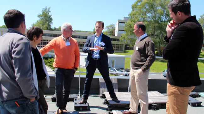 Les différentes toitures terrasses sur support bois de BOIS PE ont été commentées par les partenaires industriels. Un vrai plus pour les participants à cette rencontre.