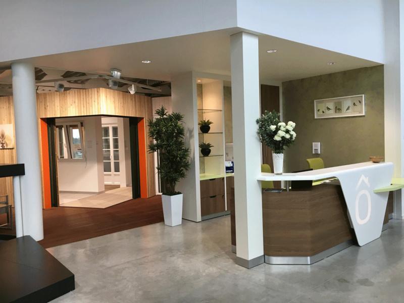 Artipôle - Un acceuil spécifique pour la clientèle qui peut faire une visite libre ou accompagnée
