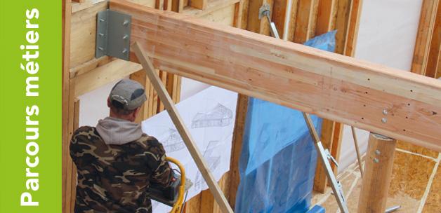 formation ossature bois 3 construire une maison avec efficacit et m thode 100 pratique. Black Bedroom Furniture Sets. Home Design Ideas