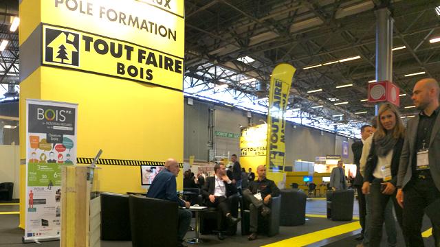 Bois PE participe au salon Tout-Faire Matériaux 2015