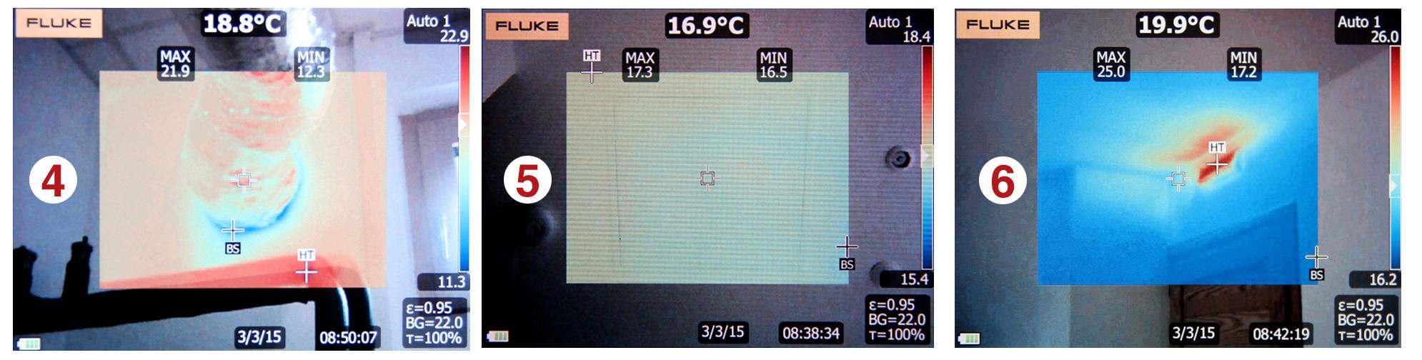 Thermographie infrarouge : quelques points singuliers des maisons Bois PE
