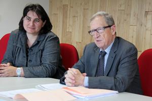 Sophie PANTEL, Présidente du Conseil départemental de la Lozère et René SOUCHON, Président de la Région Auvergne