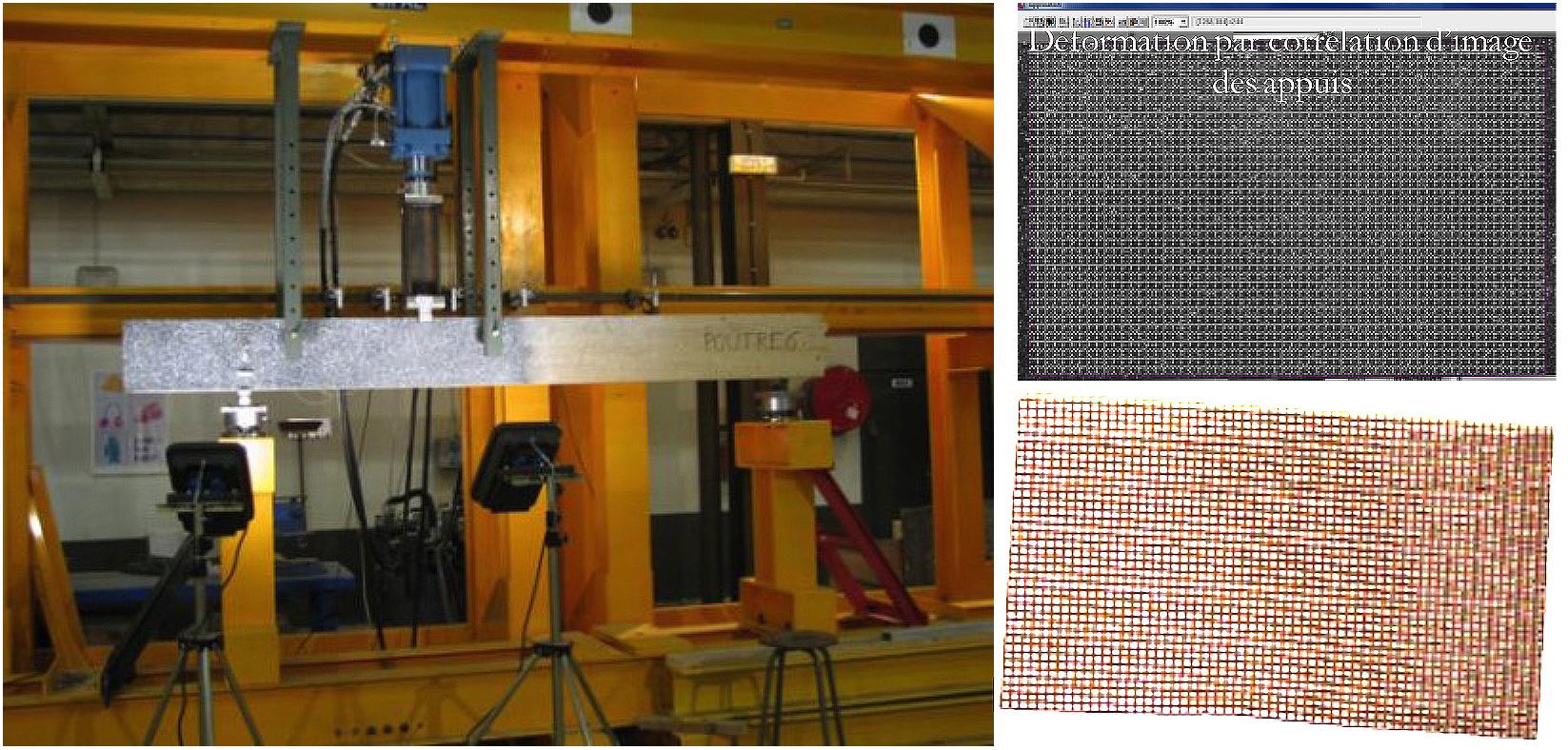 Le laboratoire GEMH co-encadre une thèse dédiée aux poutres en bois lamellé-collé