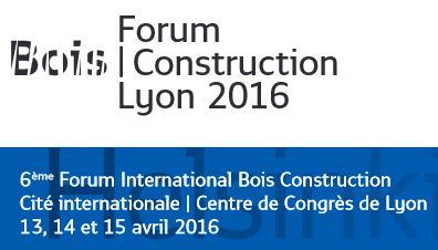 Forum Bois Construction de Lyon : rejoignez nous sur le stand BOIS PE