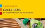 """Livre """"DALLE BOIS : le plancher bois de rez de chaussée"""""""