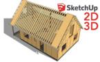 Formation SketchUp COB : Dessiner facilement en 2D et 3D pour mieux vendre et fabriquer vos constructions bois