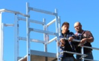 Les toitures terrasses des ateliers sont désormais accessibles et sécurisées