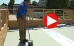 Vidéo : étanchéité des toitures terrasses par membrane 3T sur éléments porteurs en bois