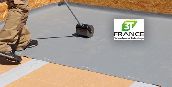 Formation Etanchéité par membrane des toitures terrasses sur élément porteur en bois