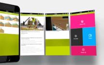 WEB APP : une information dynamique pour les chantiers de toitures terrasses