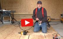 Vidéo : découper sans traçage une ouverture dans un mur à ossature bois