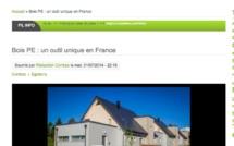 Echo de la Correze : Bois PE : un outil unique en France