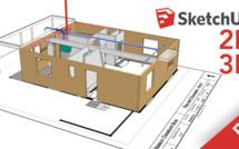 Formation SketchUp PRO : améliorer le rendu et l'impression de ses projets en 2D et 3D