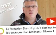 Testé pour vous : la formation Sketchup niveau 1