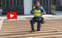Vidéo : bien réaliser un plancher de RDC en bois