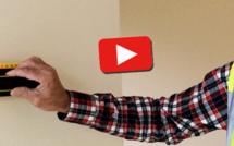Repérer facilement un montant dans un mur à ossature bois (VIDEO)