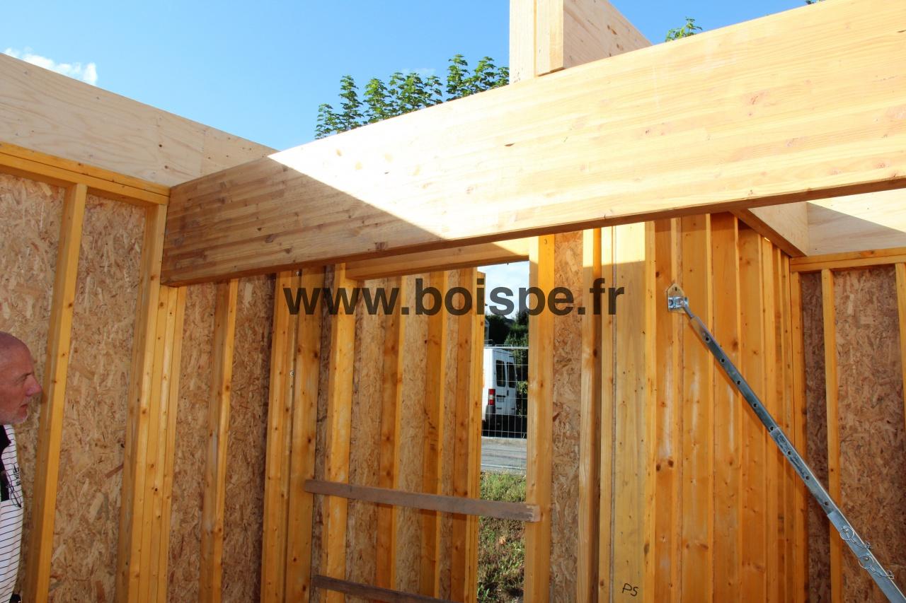Img 0563 formation ossature bois 2 galerie bois pe for Formation construction bois
