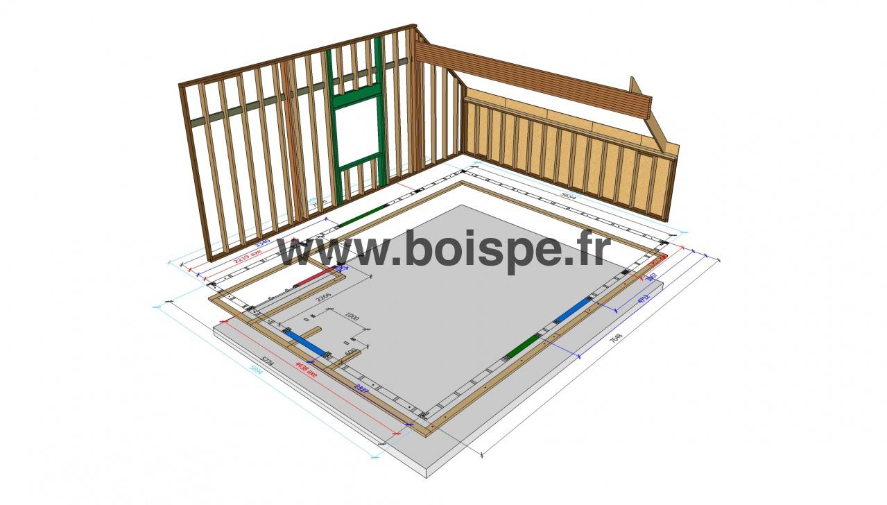 Formation OSSATURE BOIS 2 Bien préparer son chantier, de la conception technique aux plans de  # Formation Construction Ossature Bois