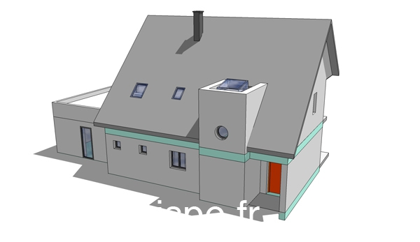 Formation-SketchUp 3d  vue nord-ouest