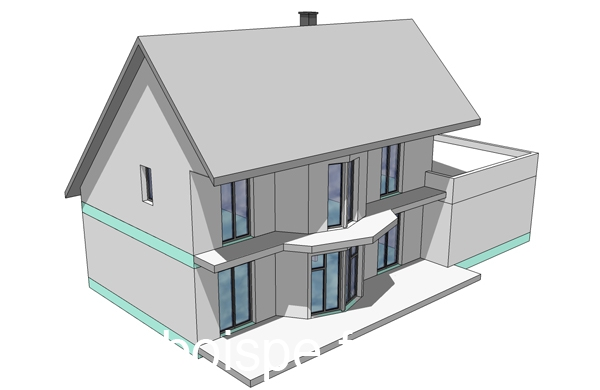 Formation-SketchUp 3d vue sud-ouest