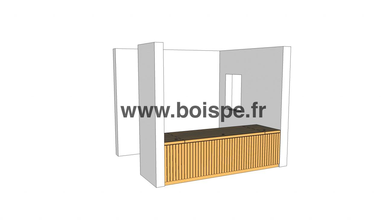 Fabriquer un bureauà partir d'éléments d'ossature bois Galerie BOIS PE, Formation  # Formation Construction Bois