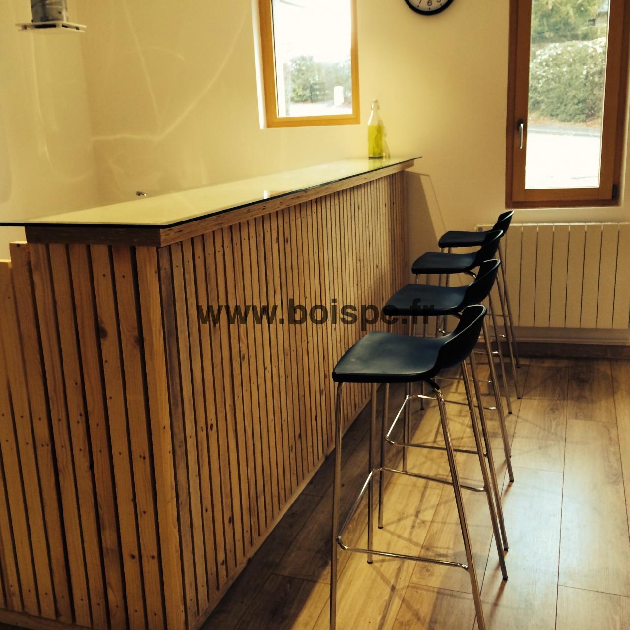 Fabriquer Un Bar En Bois bar-bois-pe4 | fabriquer un bar très design à partir d