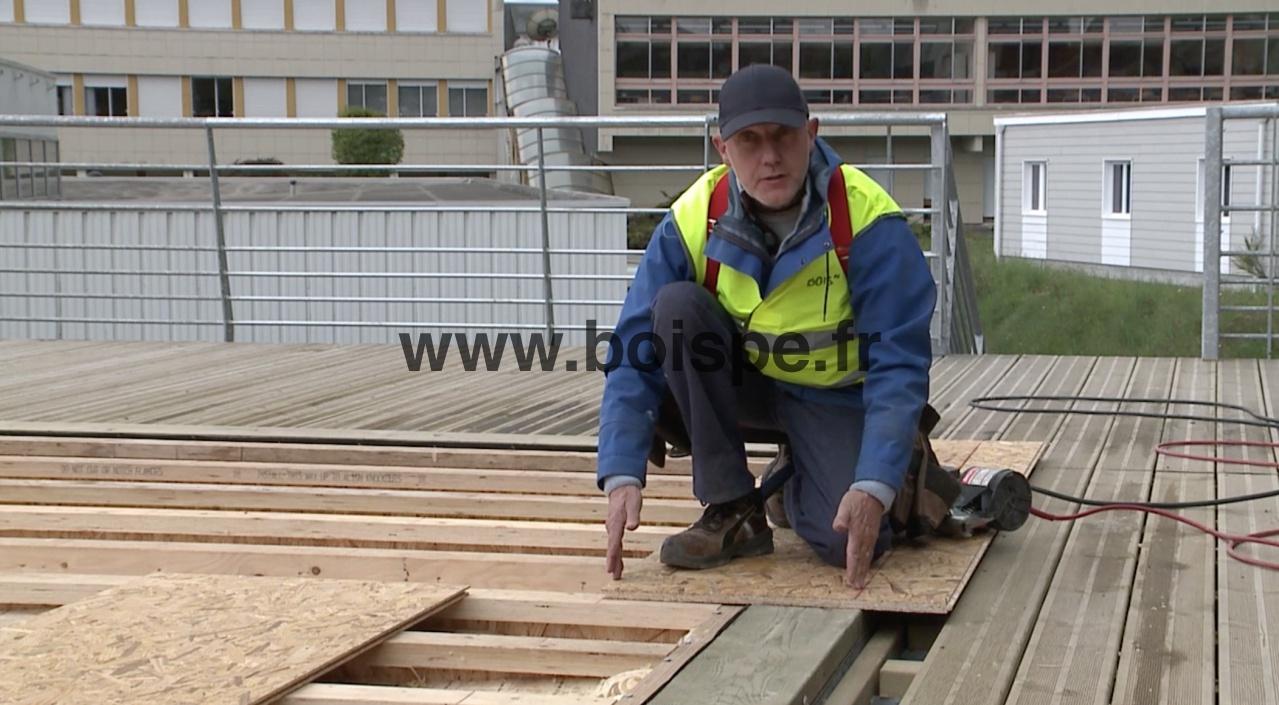 Realiser Un Plancher Bois - Vidéo bien réaliser un plancher de RDC en bois