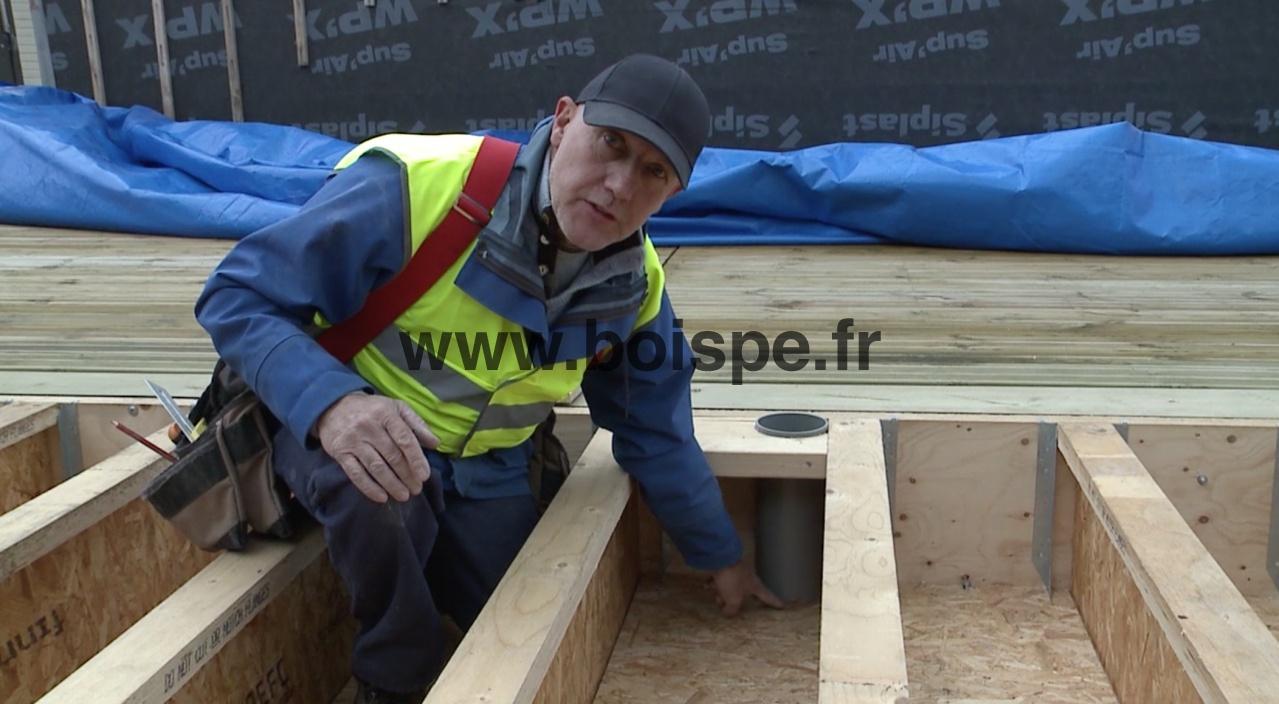 Dalle De Bois Pour Plancher : Vid?o : bien r?aliser un plancher de RDC en bois