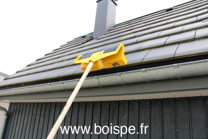 Le protège gouttière Roofersworld